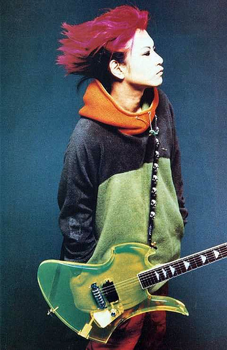 スケルトンギター×hide