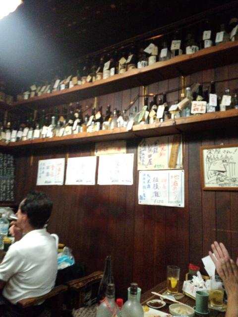 店内日本酒メニュー