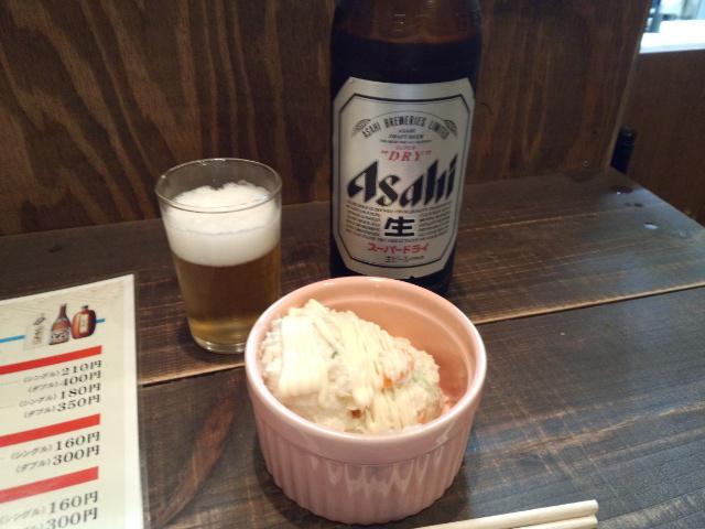 ビール&ポテサラ