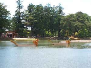 毛越寺あやめ祭り2013-06-22-074