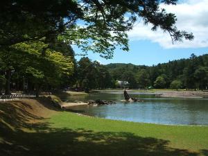 毛越寺あやめ祭り2013-06-22-085