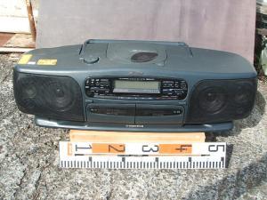 ビクターCDラジオWラジカセRC-X750-1