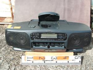 ビクターCDラジオWラジカセRC-X750-2