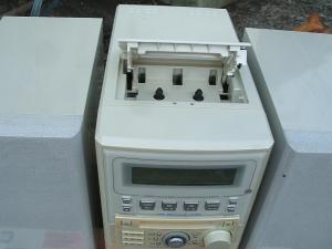 パイオニア ステレオMD/CDカセットデッキレシーバーXR-MDX717W-4