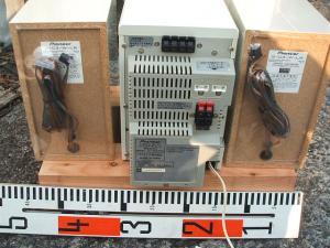 パイオニア ステレオMD/CDカセットデッキレシーバーXR-MDX717W-6