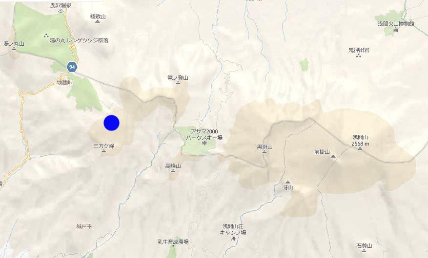 池の平湿原拡大マップ01