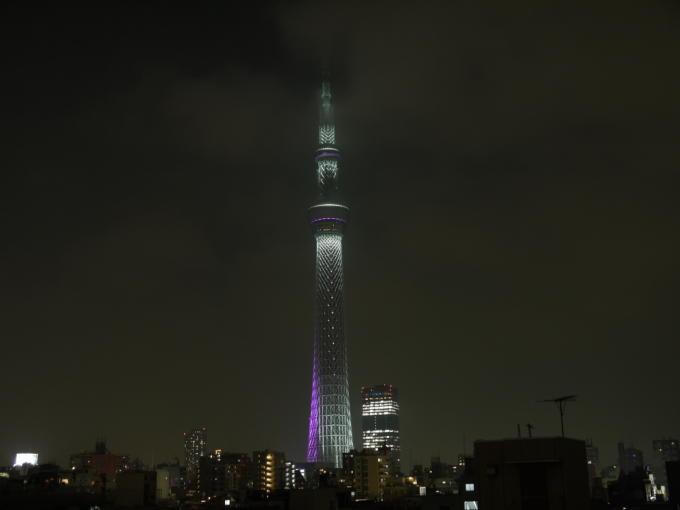 東京スカイツリー-冬雅