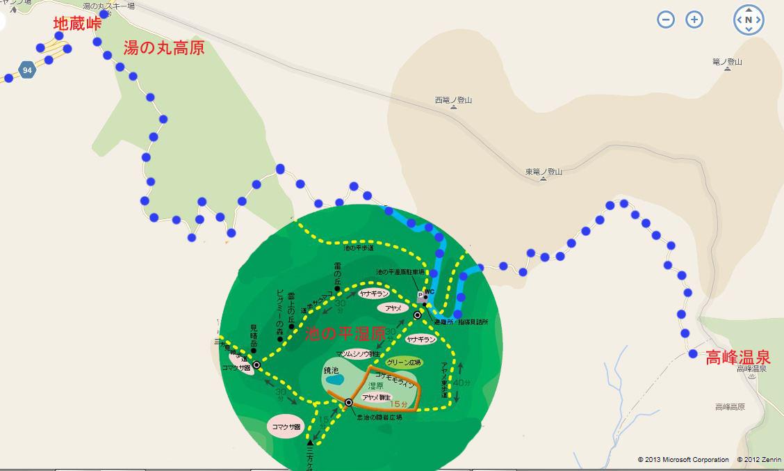 高峰温泉20130515-マップ01