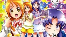 169_298057 calendar gura-san happiness_charge_precure! hikawa_iona oomori_yuuko pretty_cure satou_masayuki uniform