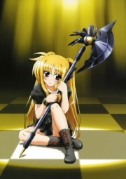 5263687 fate_testarossa hashimoto_takayoshi mahou_shoujo_lyrical_nanoha mahou_shoujo_lyrical_nanoha_the_movie_1st pantsu weapon
