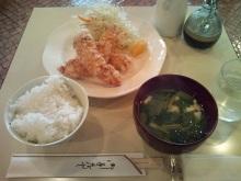 ~椎名町情報ブログ~-あるむ鶏ささみ竜田揚げ定食