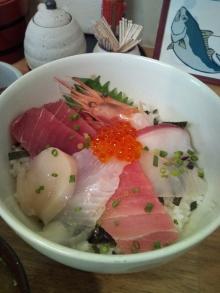 ~椎名町情報ブログ~-おぐろのまぐろ 海鮮丼 単体