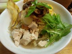 冷やし野菜山賊麺