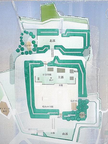 江上館地図