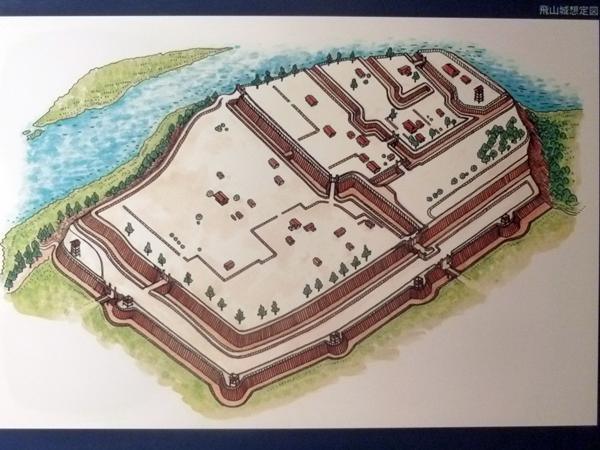 飛山城想定図