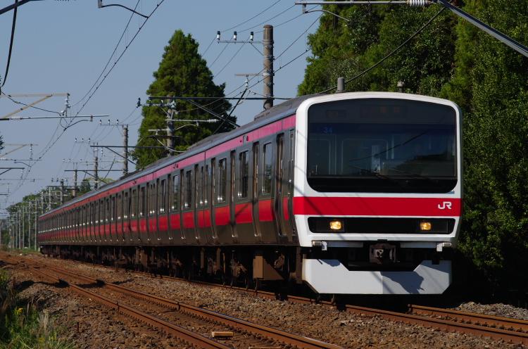2014年10月17日 武蔵野線 ケヨ34 2017