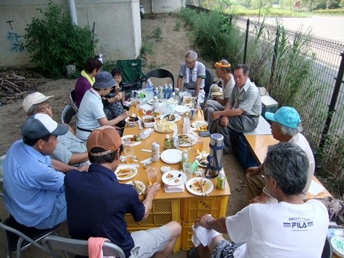 2013.8.10 BBQ(ファーマーズクラブ) 006