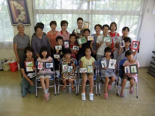 2013.8.9 絵手紙教室(公民館) 002