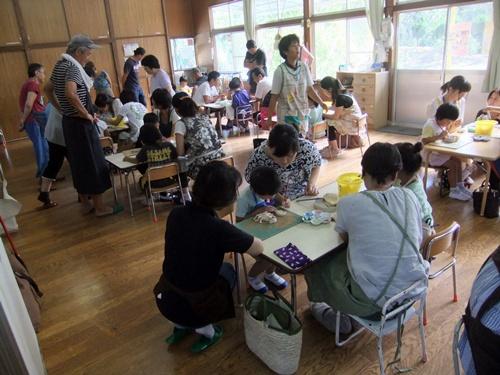 2013.9.3 保育園の親子陶芸 007