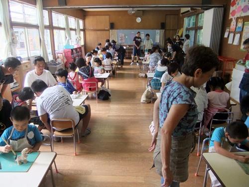2013.9.3 保育園の親子陶芸 006