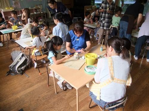 2013.9.3 保育園の親子陶芸 013
