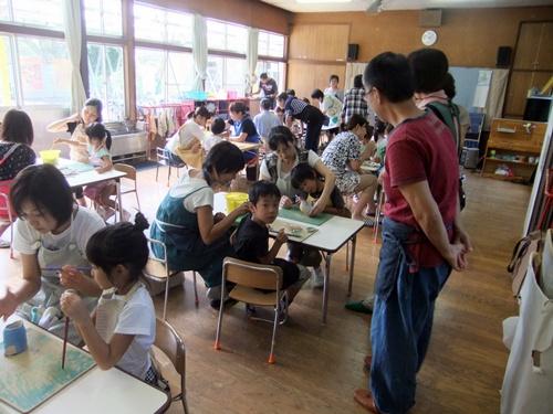 2013.9.3 保育園の親子陶芸 010
