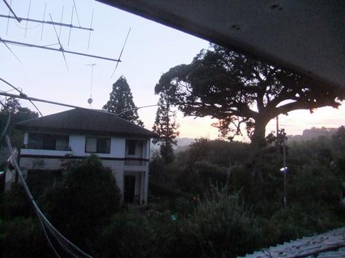 2013.9.10 朝焼け(自宅2階) 035 (1)