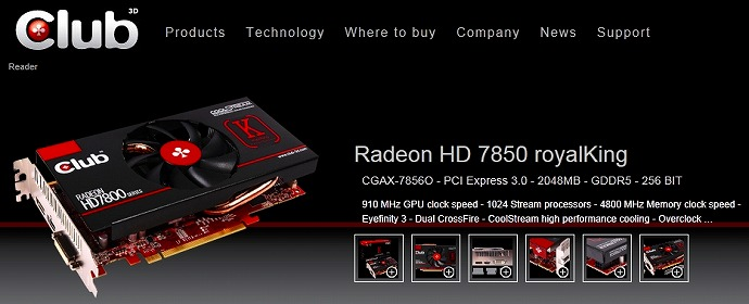 Radeon HD 7850 royalKing