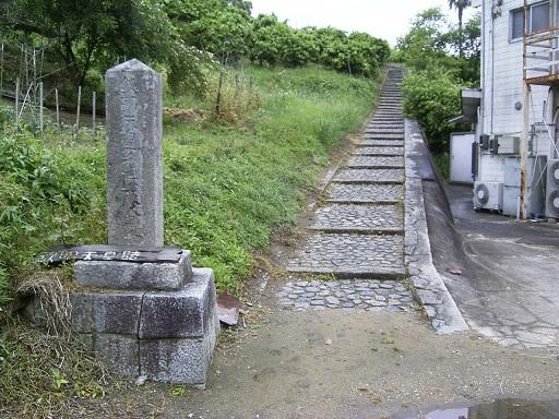 梅山古墳(伝欽明陵)参道
