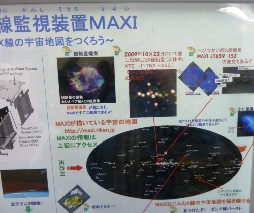 10宇宙線監視MAXI
