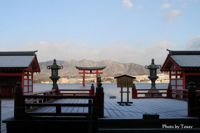 厳島神社 高舞台 国宝