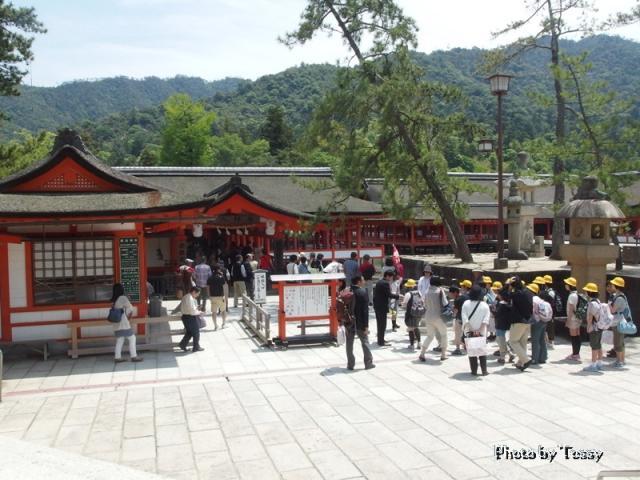 厳島神社 入り口