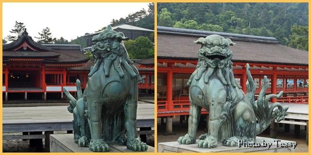 厳島神社 狛犬
