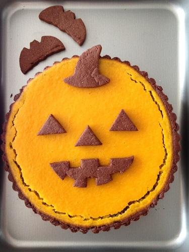 ハロウィン かぼちゃタルト