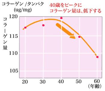 加齢によるコラーゲンの減少1