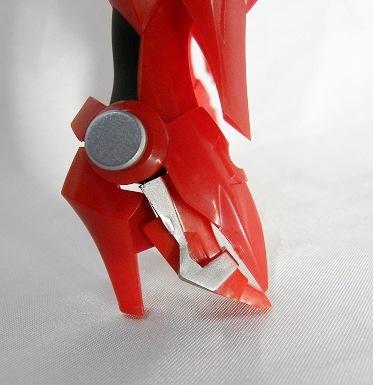 ハイヒール状の足