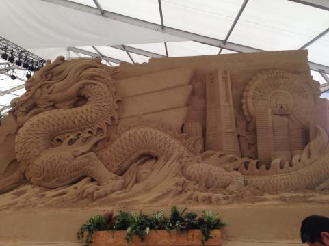 ヨコハマ砂の彫刻展3