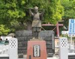 新田義貞公の銅像