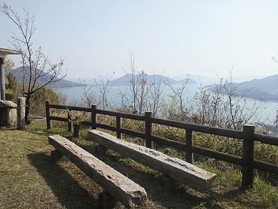 灘山(眺洋山)標高190m 広島県福山市沼隈町常石