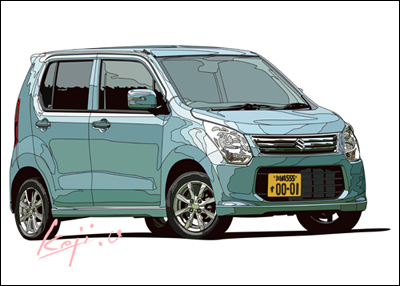 SUZUKI WAGON R FX Limited