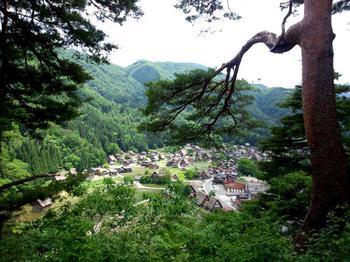 6月 白川郷 聖地巡礼 雛見沢村へようござったです。