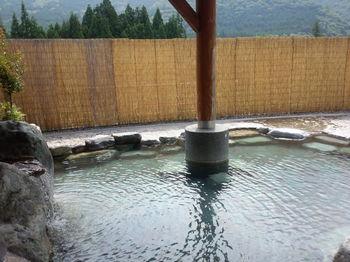 大白川渓谷 ウォーキングの後は温泉