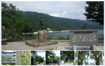 夏の荘川桜1