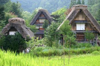 夏休み~世界遺産白川郷を散策 大自然&昔ながらの風景 ①