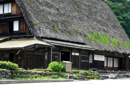 …白川郷の観光スポット巡りに…国重文 旧遠山家民俗館 ⑦