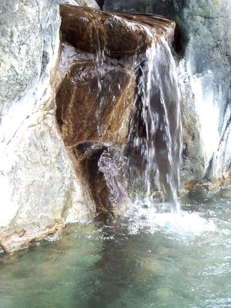 大白川温泉 しらみずの湯 源泉かけ流し天然温泉 露天風呂~満喫 ①