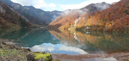 白山国立公園 大白川渓谷 白水湖を満喫