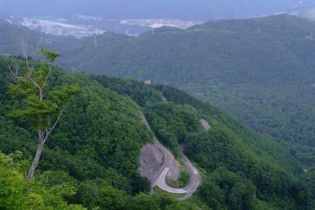 白山スーパー林道 (開催当日の9月29日(日)、白山スーパー林道は終日通行止めになります)。