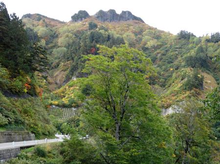 2013年10月08日の紅葉 三方岩岳 B