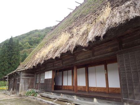 白川郷の代表的な合掌造りである 国指定重要文化財 旧遠山家民俗館 (Tooyama house) ③